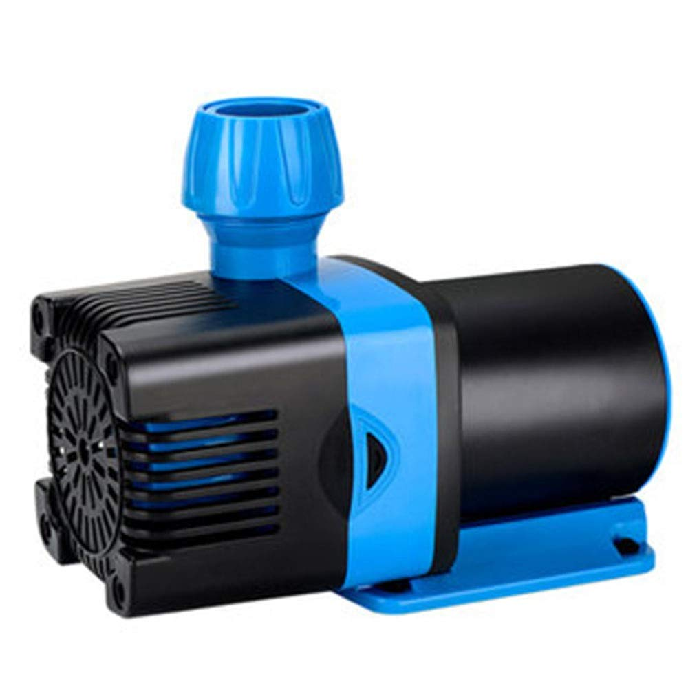 LIFUREN Fish Tank Oxygen Pump Submersible Pump Low Pressure Variable Frequency Water Pump Aquarium Circulation Pump Mute Water Pump Amphibious (Color : Black, Size : 70W)
