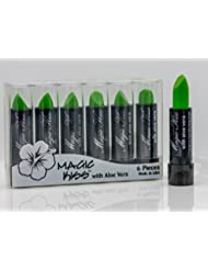 Magic Kiss Lipstick Set Aloe Vera Color Changing Green MADE IN USA