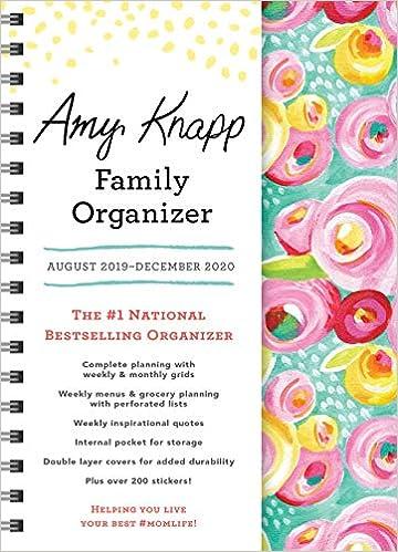 Best Seller List 2020 2020 Amy Knapp's Family Organizer: August 2019 December 2020: Amy