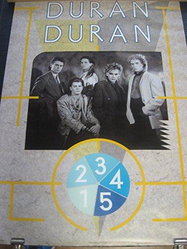 - 1984 Duran Duran Bi Rite Simon Lebon vintage wall poster rolled PBX1880