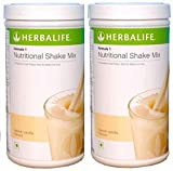 Herbal Life Herbalife Formula 1 Shake 500g Weight Loss - Vanilla Pack of 2 (FEDEX SHIPPING)