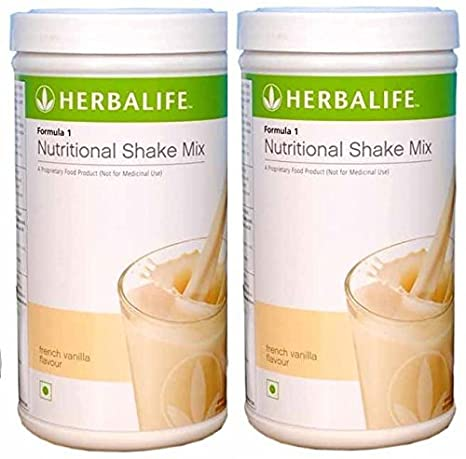 Herbalife Formula 1 Shake 500g Weight Loss Vanilla Pack Of 2