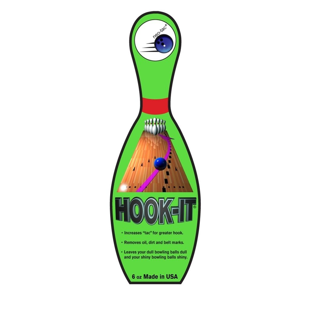 Neo Tac 6 Ounce Hook It Bowling Ball Cleaner by Neo Tac Cleaners & Polishes