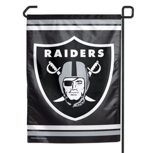 NFL Oakland Raiders™ Garden Flag - Party Decorations & Yard Decor ()