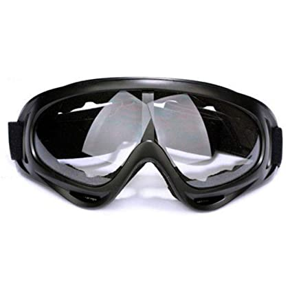 f438de5970f Amazon.com   Gijoki Unisex Durable Practical Windproof Ski Goggles Eye  Protection Glasses Winter Sports Accessories   Sports   Outdoors