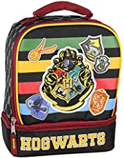 Harry Potter Lunch Box Kit Dual Compartment Insulated Hogwarts Crest