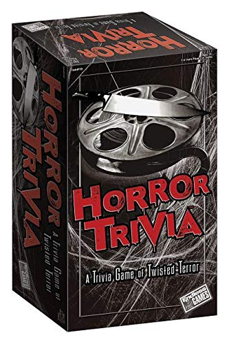 Endless Games 113 Horror Trivia Card Game (2018 Edition) - Scary Fun Halloween Game for Teens and Adults, Multicolor -