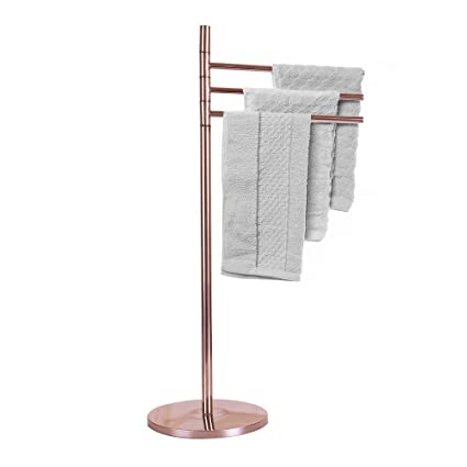Amazoncom Crownstarqi Stainless Steel Towel Holder Stand For