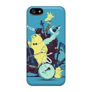 New Wild Animal Concert Retina Cases Covers, Anti-scratch Ros1904DgCe Phone Cases For Iphone 5/5s