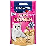 Vitakraft Crispy Crunch Cat snacks with malt (60 g. x 2 Packs.)