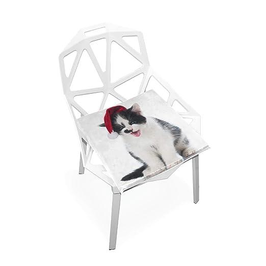 Pingshoes - Cojín para Silla de Invierno con diseño de Gato ...