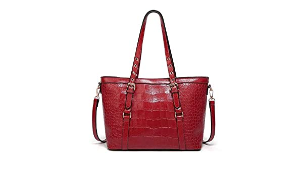 Amazon.com: Vento Marea Ladies Handbags Large Shoulder Bags Tote Bolsos Mujer Women Messenger Bag Female Crossbody Bags Bolsas Feminina Color red: Shoes