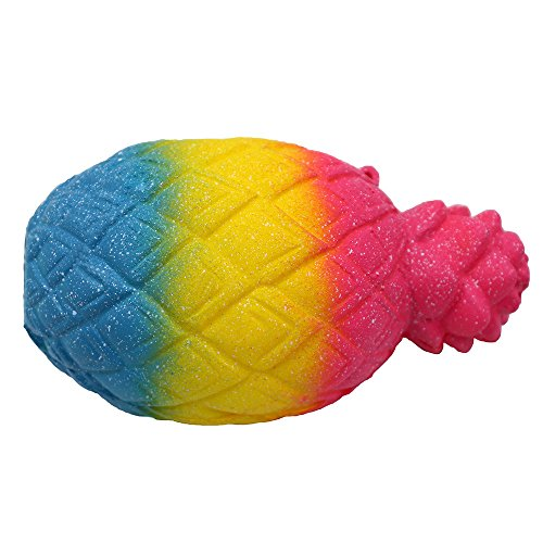 MOZATE Jumbo Pineapple Scented Cream Super Slow Rising Squeeze Toy Lovelys Cure Toy Lovely ()