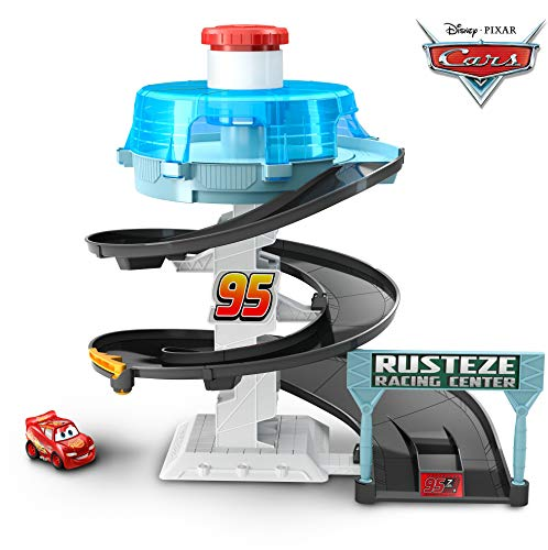 (Disney/Pixar Cars Mini Racers Rust-eze Spinning Raceway)