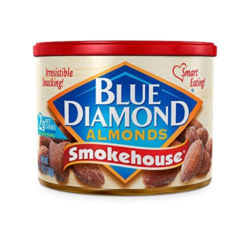 Blue Diamond Almonds, Smokehouse, 6 Ounce (Pack of 6) ()