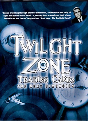 TWILIGHT ZONE SERIES 2 THE NEXT DIMENSION 2000 FACTORY TRADING CARD ALBUM BINDER W/PROMO & AUTOGRAPH