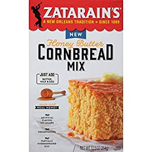 Zatarain's Honey Butter Cornbread Mix, 12.5 oz