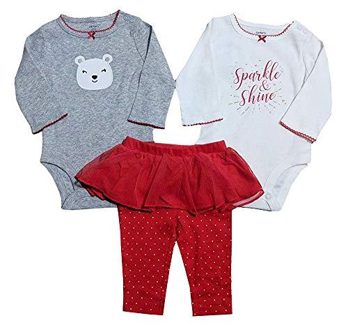 (Carter's Baby Girls Take Me Away 3-Piece Little Character Set (Sparkle/Bear, 18 Months))