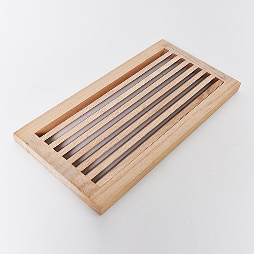 Wood Return Air Grilles (WELLAND 8 Inch x 16 Inch Red Oak Hardwood Register Cold Air Return Wall Vent, Unfinished)