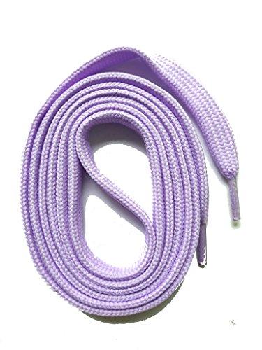 12mm Colorati Stringhe Brilliante Per Snors Piatti Lacci Scarpe Spessore Lilla Colorate Di Ca 11 qxyx5UwpXP