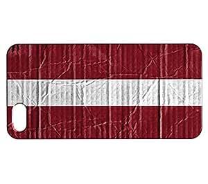 Funda Carcasa para iPhone SE Bandera LETONIA 04