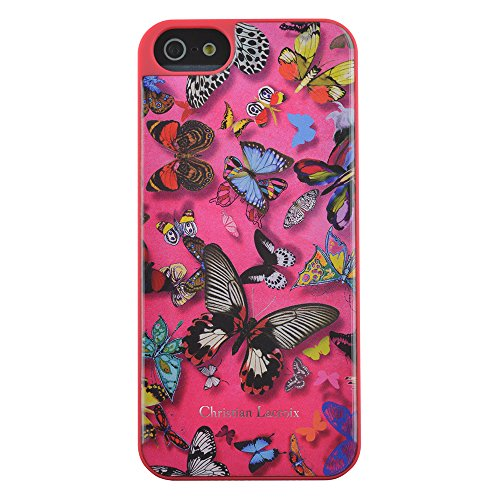 BigBen CHRISTIAN LACROIX - Cover Butterfly für Apple iPhone 4/4S, pink - CL277002