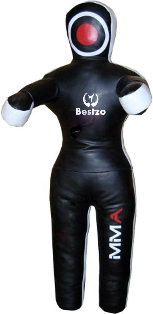 bestzo Arts Martiaux MMA br/ésilien Combat Sucette mains sur le devant Position Debout Noir/?/Vide