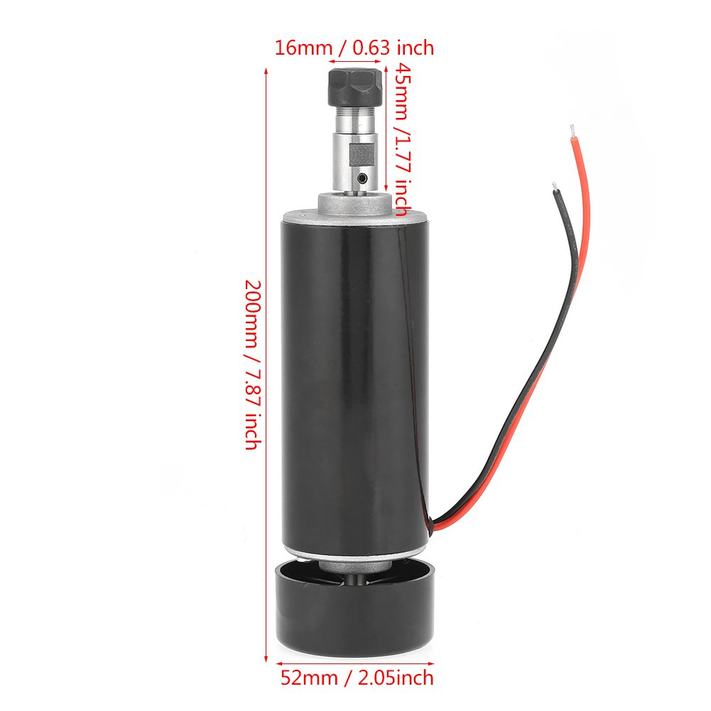 ER11 500W 100V High Speed Brushless PCB Spindle Motor DIY Engraver Accessories