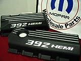 Dodge Charger Challenger 6.4L engine valve wiring cover set 2pcs 392 Hemi Mopar