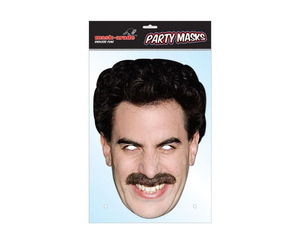 Borat Celebrity Face Mask (máscara/careta): Amazon.es: Juguetes y ...