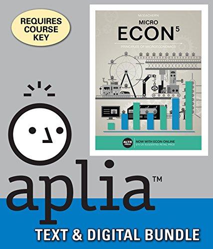 Bundle: ECON MICRO, 5th + Aplia, 1 term Printed Access Card