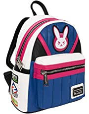 Loungefly Overwatch D.Va Blue Mini Backpack