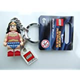 Super Heroes Lego Wonder Woman Key Chain
