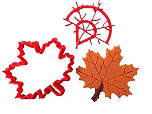 Fall Leaf 102 Cookie Cutter Set (2 inches)