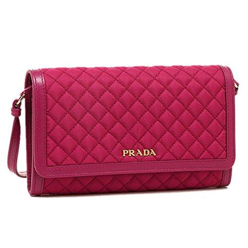 prada-quilted-nylon-soft-calf-leather-crossbody-shoulder-wallet-bag-1m1437-pink