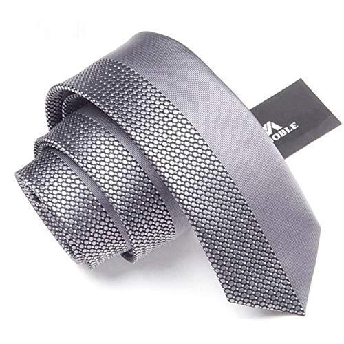 Necktie Silver Grey Necktie - 2