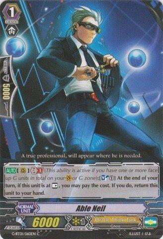 Cardfight!! Vanguard TCG - Able Neil (G-BT01/060EN) - G Booster Set 1: Generation Stride