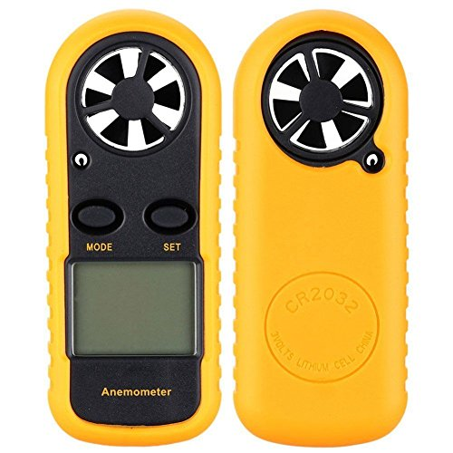 Wind Alexander Doll (Mini LCD Wind Speed Gauge Air Velocity Meter Digital Anemometer NTC Thermometer)