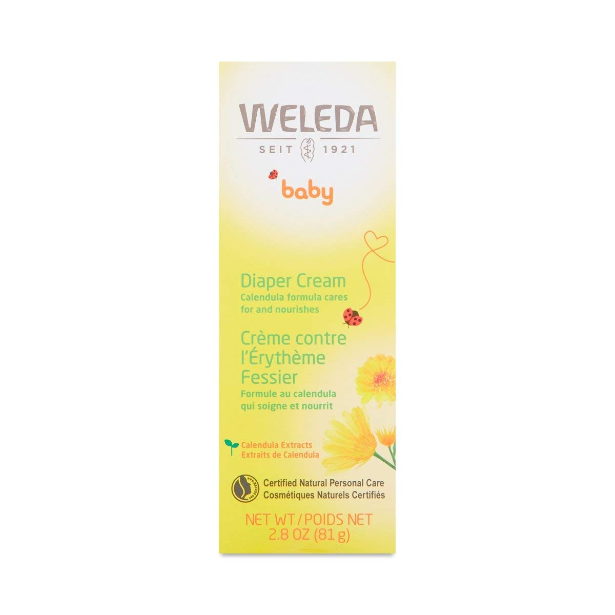 Weleda Calendula Diaper Care, 2.8-Ounce 8813