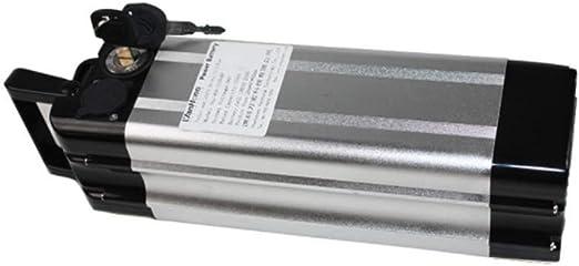YUNFEILIU 36V 10Ah Batería de Iones de Litio de Litio para Bicicletas Eléctricas Plegables: Amazon.es: Hogar