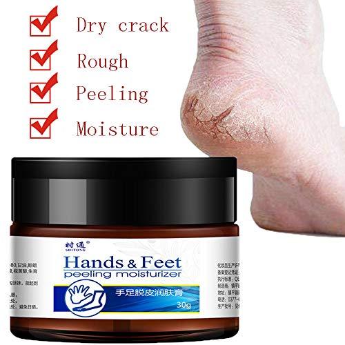Euone Hand Foot Moisturizing Cream To Prevent Dry Cracking Feet Heel SkinHand (Set 32 Piece Beauty Makeup)