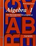 img - for Saxon Algebra 1 Tests and Answer Key Third Edition book / textbook / text book