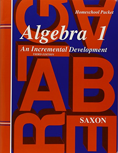 - Saxon Algebra 1 Tests and Answer Key Third Edition