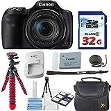 Canon PowerShot SX540 HS + 32GB High Speed Memory Card + Case + Tripod - Bundle