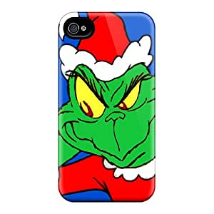 Shock Absorbent Hard Cell-phone Case For Iphone 6plus (qOs6723LAgf) Support Personal Customs Vivid The Grinch Pictures