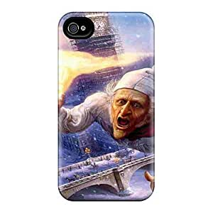 6Plus LsD7459vpMn Protective Case For For Iphone 5/5S Cover (disney Christmas Carol Pictures)