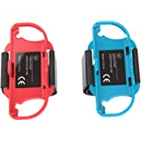 2 Pack.Upgraded Wrist Bands for Just Dance 2021 2020 Nintendo Switch, Adjustable Elastic Dance Straps for Switch Joy-Con Cont
