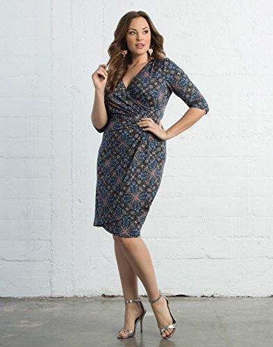 Kiyonna Women's Plus Size Ciara Cinch Dress