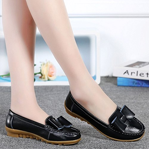 cozy With 5 Women's Autumn Size Single EU38 B Casual And CN38 Tie shoes Shoes Shoelace UK5 B Flat Flat LVZAIXI Shoes Shoes Color Spring The axO0qwB