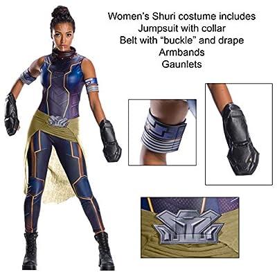 Rubies - Disfraz Oficial de Los Vengadores Shuri, Secret Wishes para Mujer: Juguetes y juegos